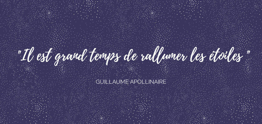Inspiration Guillaume Apollinaire - Nouvelle collection de linge de maison Essix