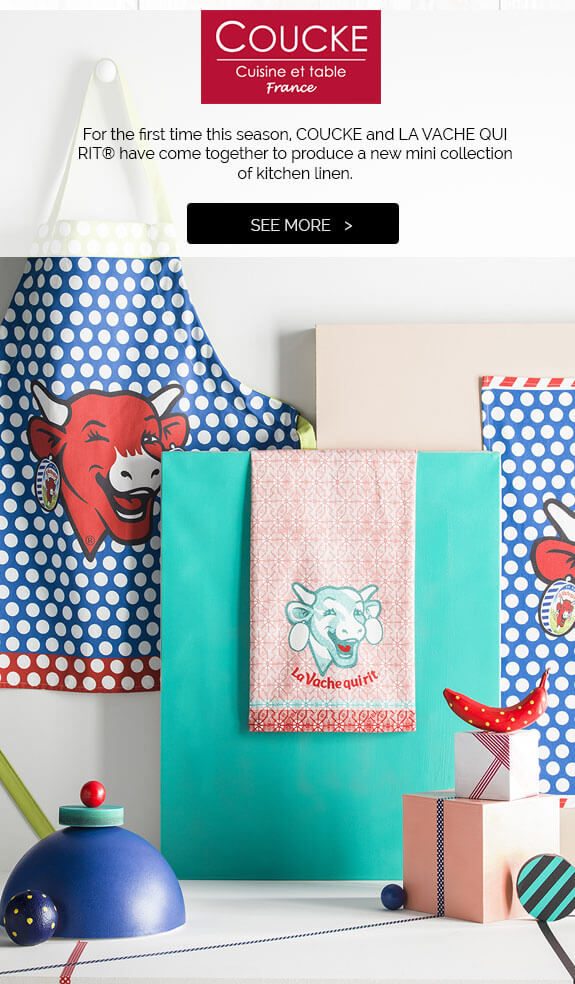 Kitchen linen The Laughing cow®