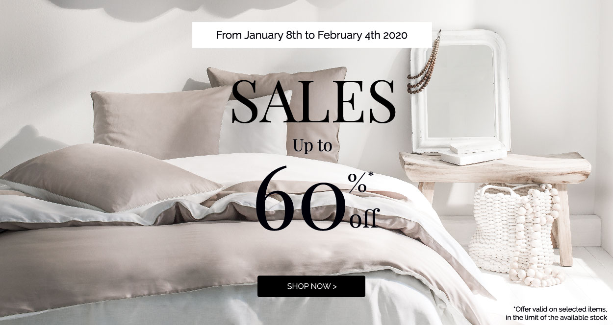 SALES: Up to 60% off on our selection! Shop now >