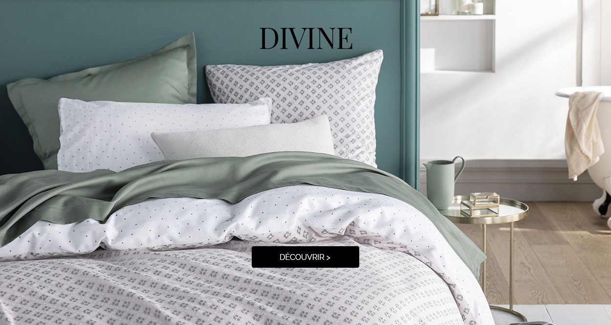 Discover DIVINE, our cotton sateen bed set!