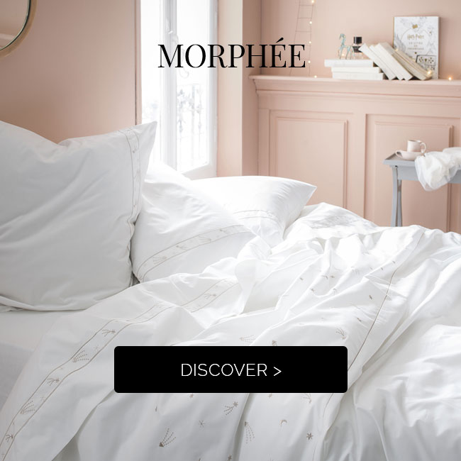 MORPHÉE: discover our new cotton percale bed set! >