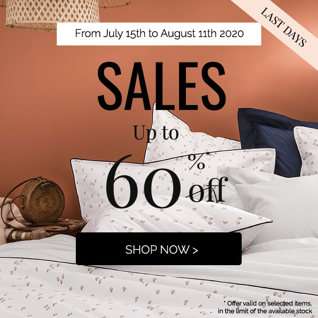 SUMMER SALES, get up to 60% >