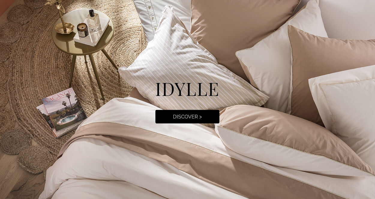 Idylle Bed Linen : DISCOVER >