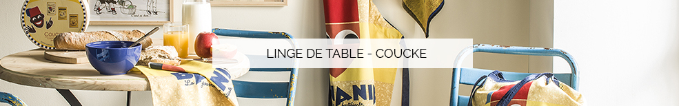 Linge de table - Coucke