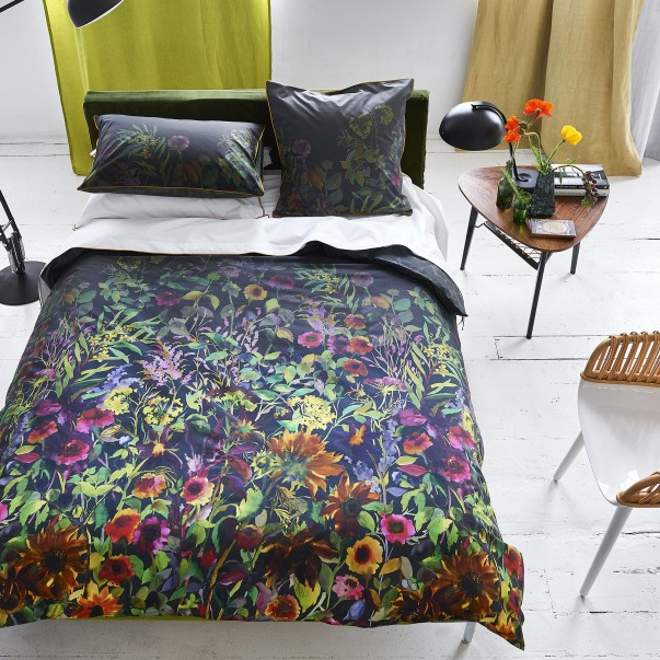 Parure de lit INDIAN SUNFLOWER en percale de coton - DESIGNERS GUILD