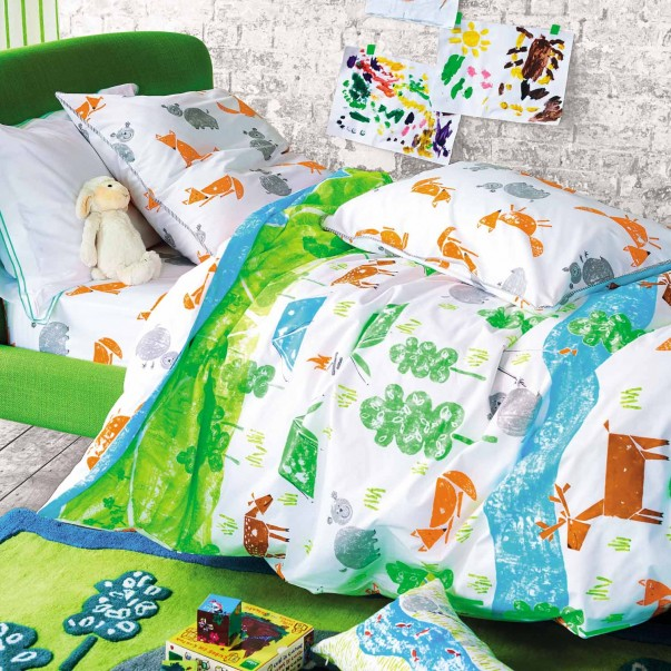 Drap Housse THE GREAT OUTDOORS en coton - DESIGNERS GUILD KIDS