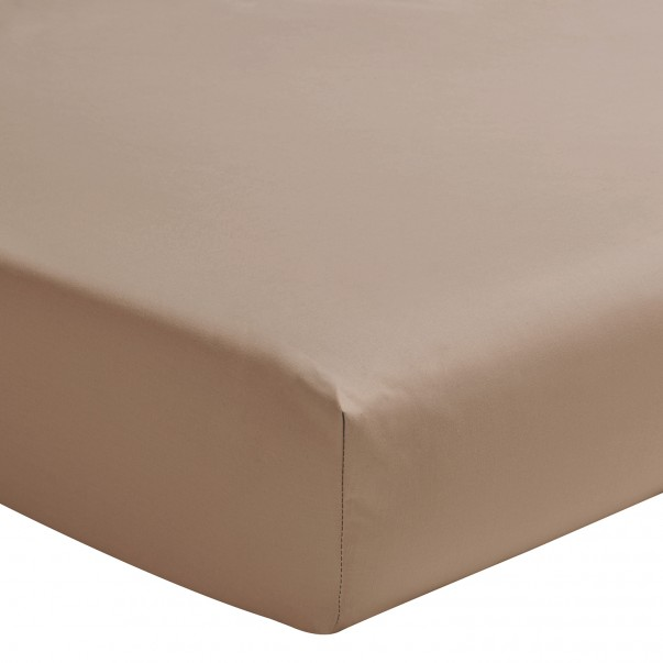 Drap housse uni ROYAL LINE en promotion - Bonnet de 40 cm