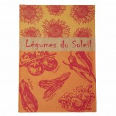 Tea towel FRUITS D'ETE