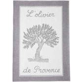 Tea towel ST REMY NOIR - Coucke