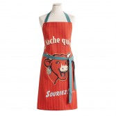 Tea towel THE LAUGHING COW Rétro Vanille - Coucke