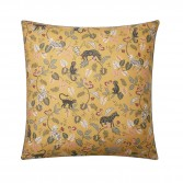 BESTIAIRE cotton percale pillowcase with braided piping