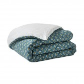 Double-sided printed percale bed sheet ECLIPSE
