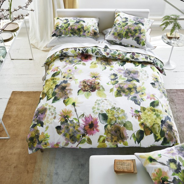 Duvet set DESIGNERS GUILD PALACE FLOWER Moss