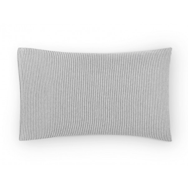 Set of 2 Pillowcases JARED Knit Graphic cotton