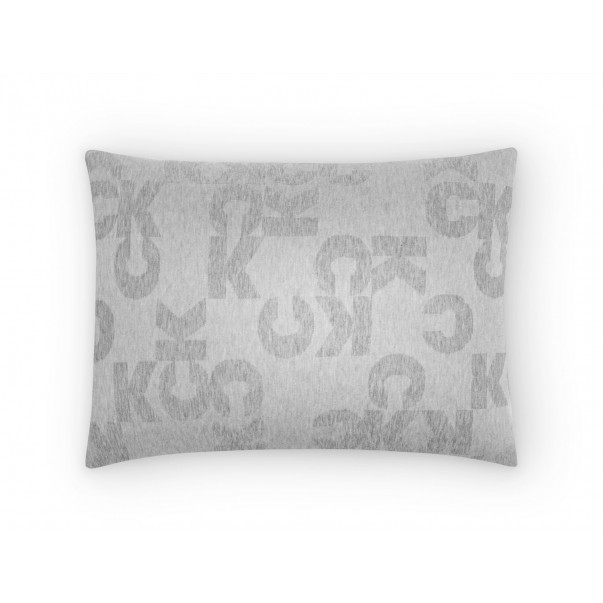Set of 2 Pillowcases MONOGRAM LOGO Jacquard Jersey with CK Logo Graphic