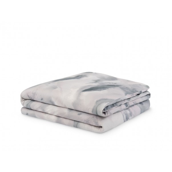 Duvet cover MOONSTONE printed in sateen cotton