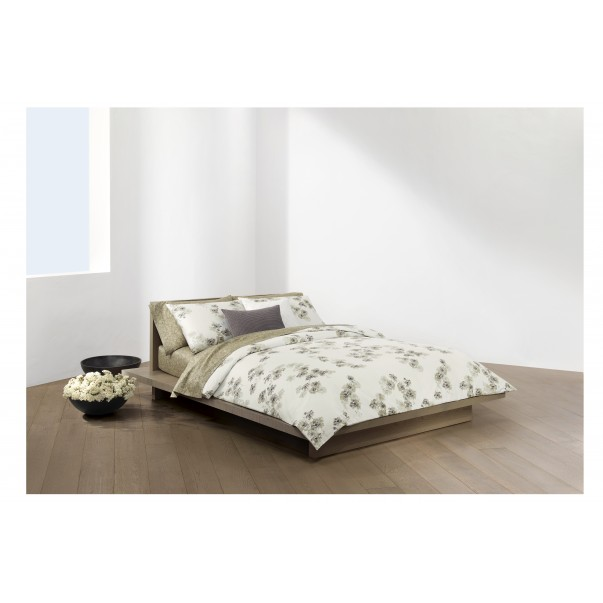 Bed Set SANDSTORM SAND printed sateen cotton