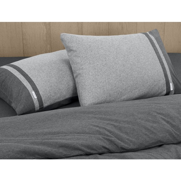 Set of 2 Pillowcases Modern Cotton Calvin Klein STRATA BAND