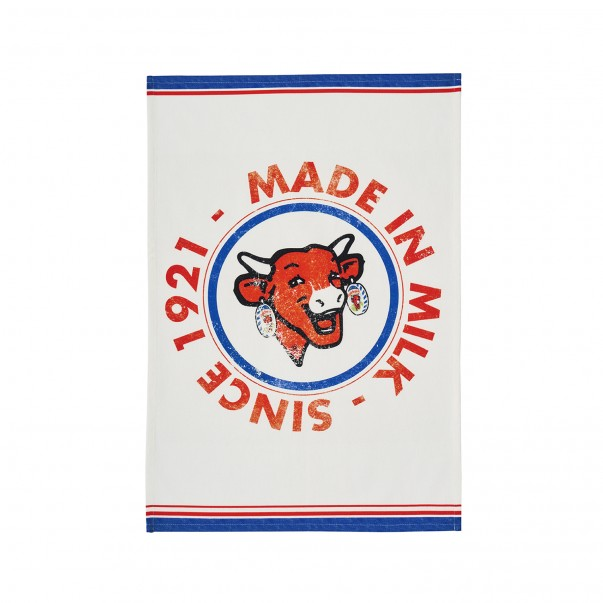 Tea towel THE LAUGHING COW 100 YEARS - COUCKE