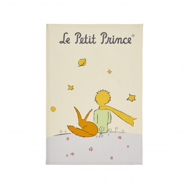 Tea towel THE LITTLE PRINCE FOX - COUCKE