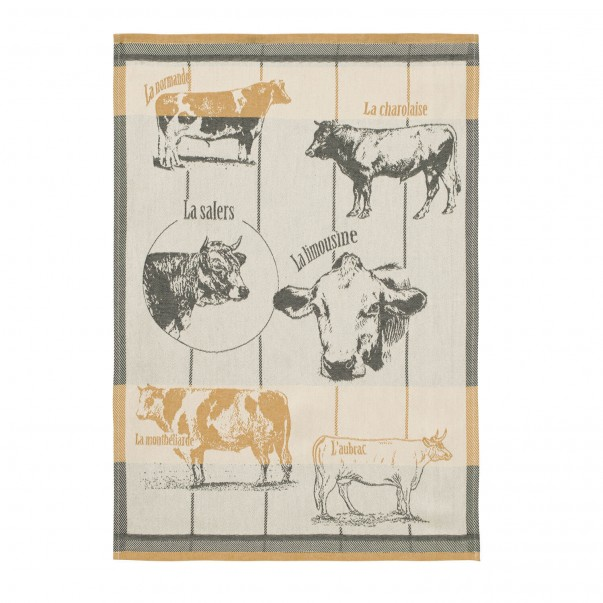 Tea Towel RACES BOVINES - COUCKE