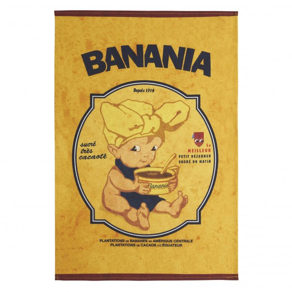 Tea towel BANANIA Bambin