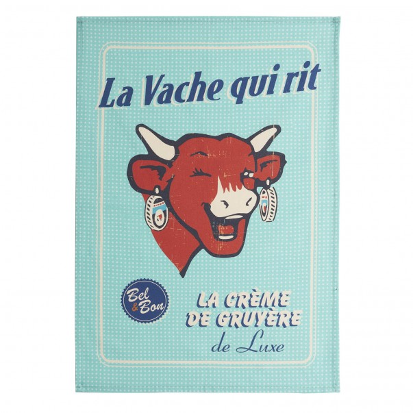 Tea towel THE LAUGHING COW  - Coucke