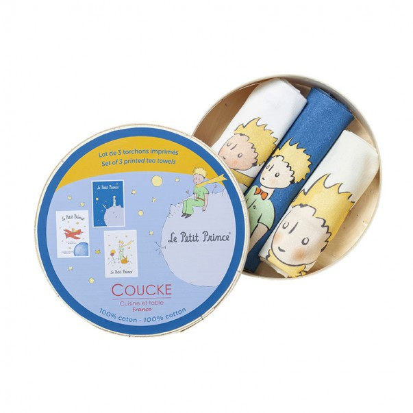 3 Tea towels bundles THE LITTLE PRINCE  - Coucke