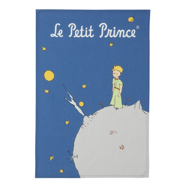 Tea towel THE LITTLE PRINCE PLANETE - Coucke