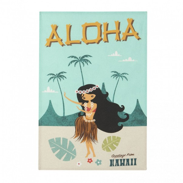 Tea towel MISTERATOMIC ALOHA