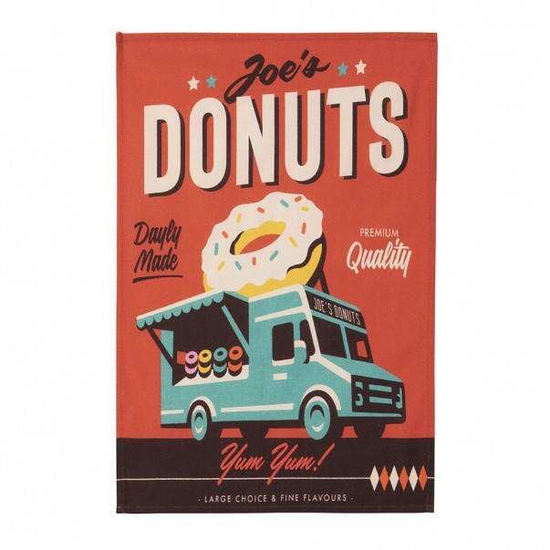 Tea towel MISTERATOMIC DONUTS - Coucke