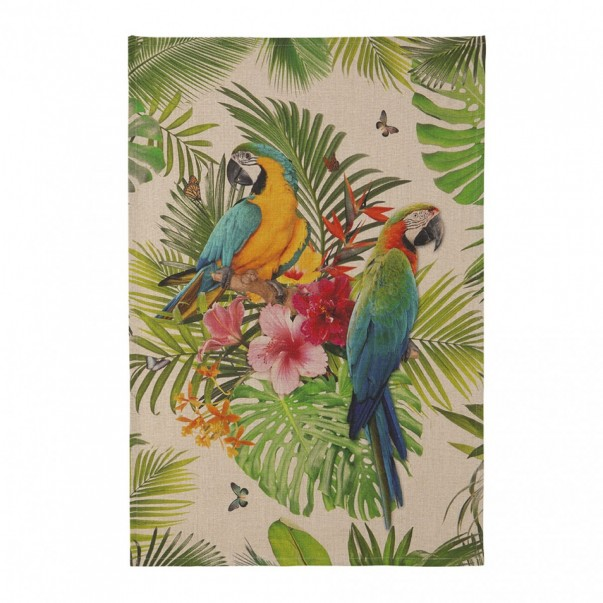 Tea towel TROPICAL  - Coucke