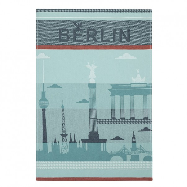 Tea towel BERLIN CITY Blue