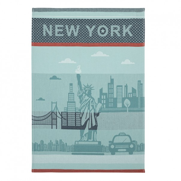 Tea towel NEW YORK CITY Blue
