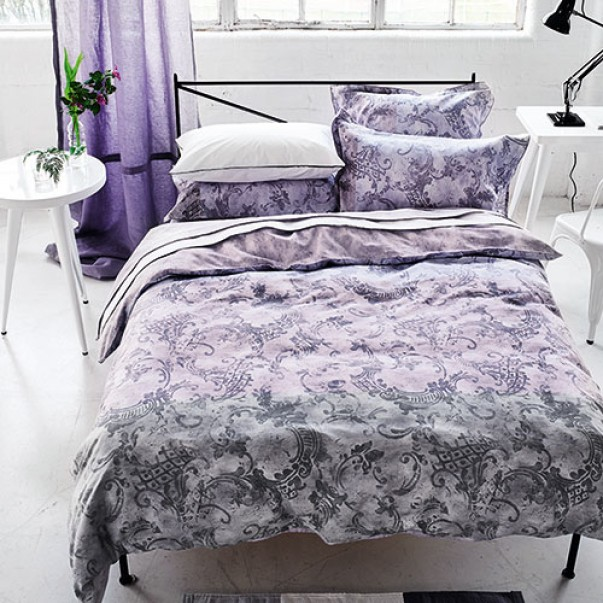 Fitted sheet FILIGRIANA AMETHYST