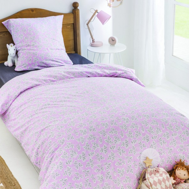 Children's bed set MEADOW LEAF in tight cotton 57 threads / cm² - DESIGNERS GUILD