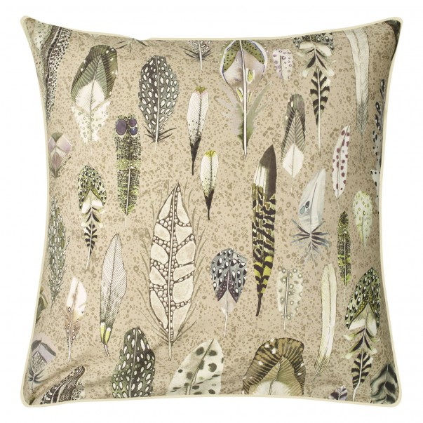 Percale cotton Pillowcase QUILL NATURAL - DESIGNERS GUILD