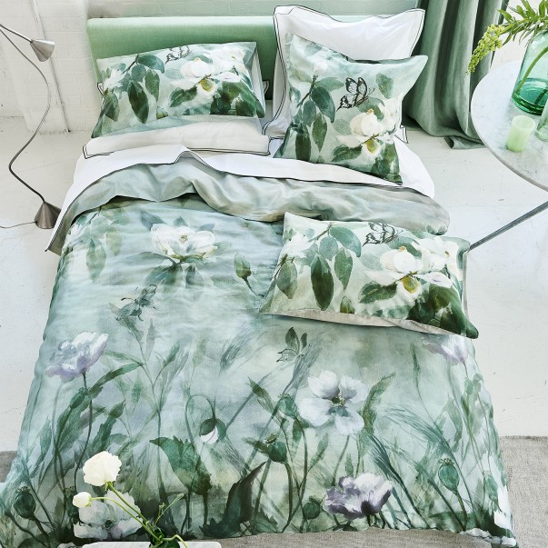 Sateen cotton Duvet Set KIYOSUMI  - DESIGNERS GUILD