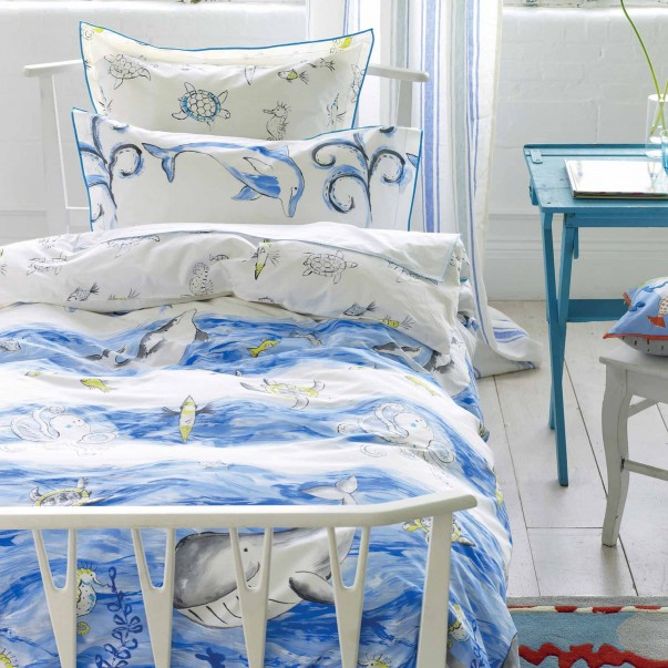 WHALE OF A TIME Bed set