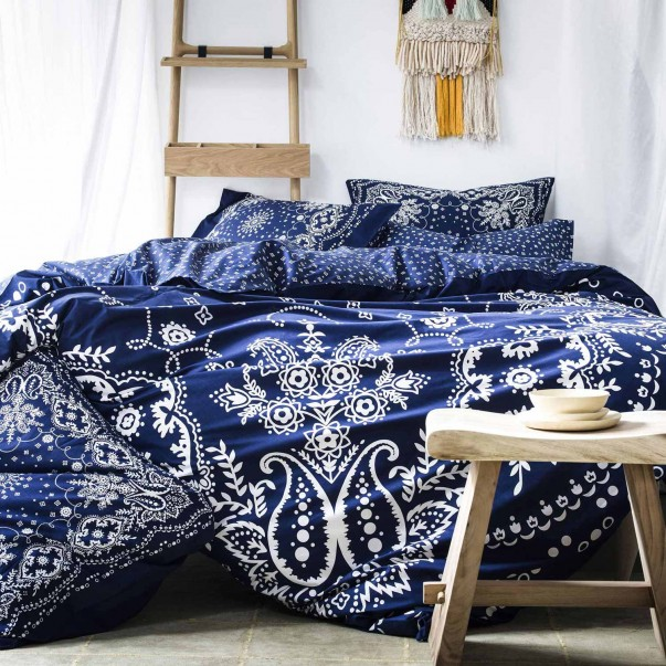BANDANA Blue Bed set