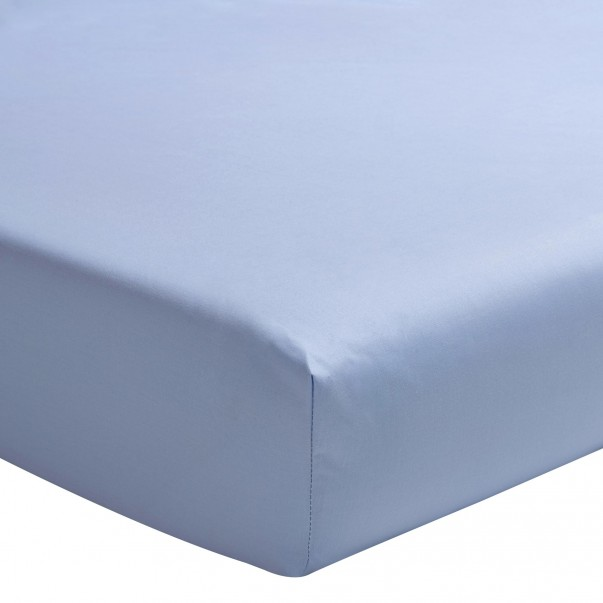 TRIUMPH LINE Cotton Sateen fitted sheet