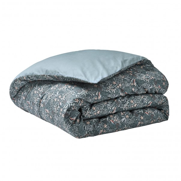 Duvet cover Ode Nocturne in cotton percale with OEKO-TEX® certified