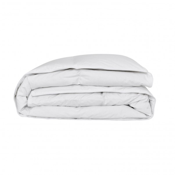 Natural duvet made in France 100% cotton - Céleste - 90% down and 10% feathers