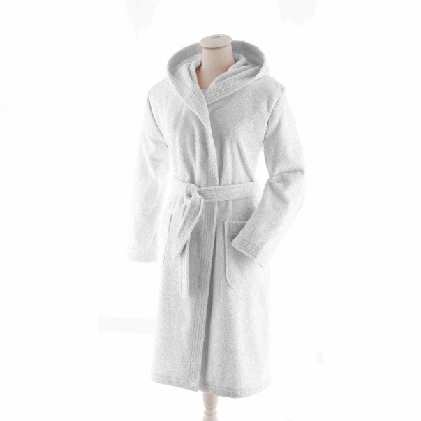 AQUA Hooded bathrobe