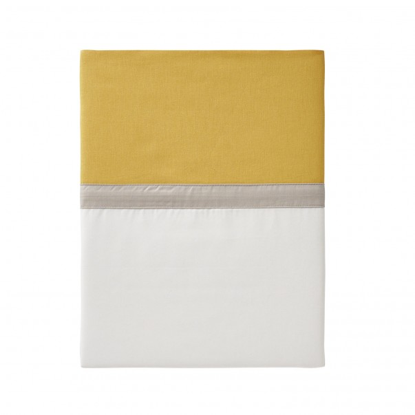 Percale Cotton Flat sheet TOI ET MOI SAHARA