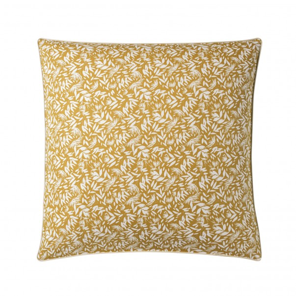 OMBRAGE reversible pillowcase in printed cotton percale