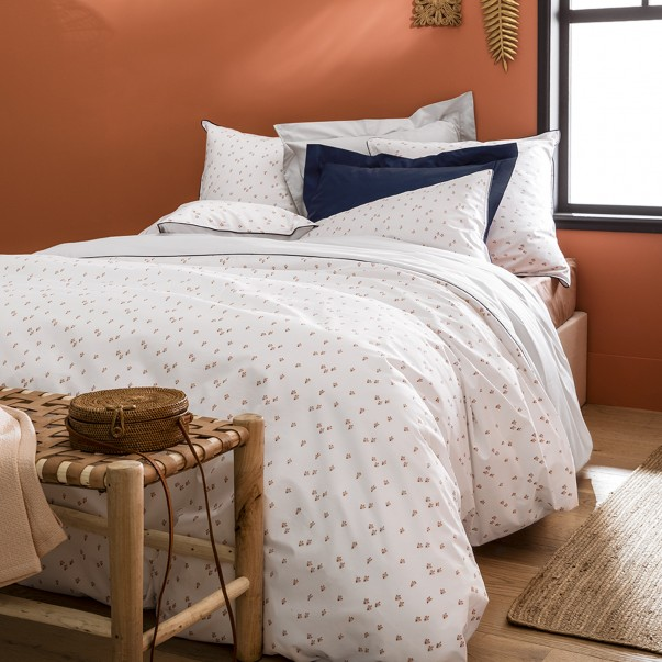 Duvet set cotton percale RÉCIF