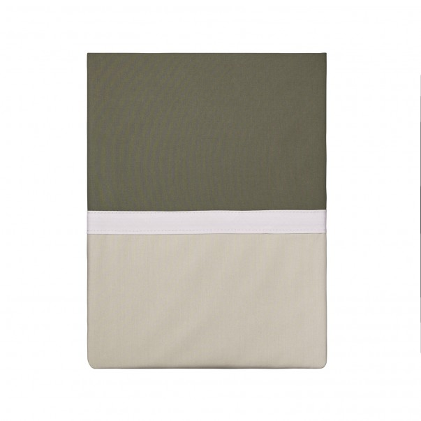 TOI & MOI Essential cotton percale flat sheet, made in France