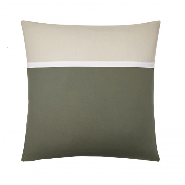 Pillowcase in cotton percale TOI & MOI Essentiel, made in France