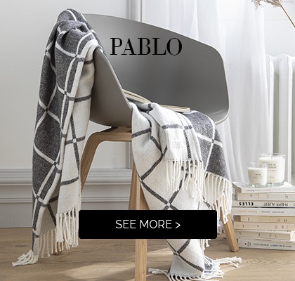 Discover our  sweet throw PABLO >